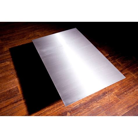 cuisine roy merlin plaque de protection sol inox satiné inox equation l 100