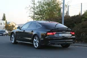 audi prototype spyshots 2018 audi a7 chassis testing mule seen for the