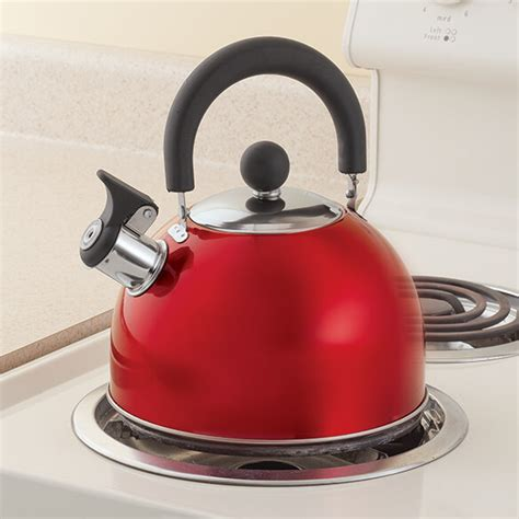 Kitchen Living Tea Kettle by Whistling Tea Kettle By Home Style Kitchen Easy Comforts