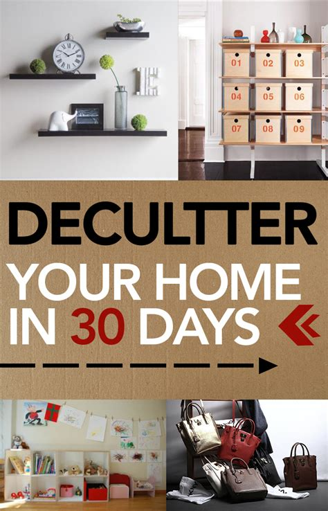 declutter  home   days