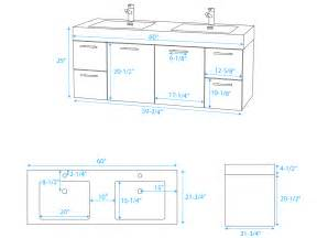 60 quot amare double sink vanity grey oak bathgems com