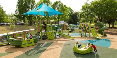 Commercial Playground Equipment  Landscape Structures