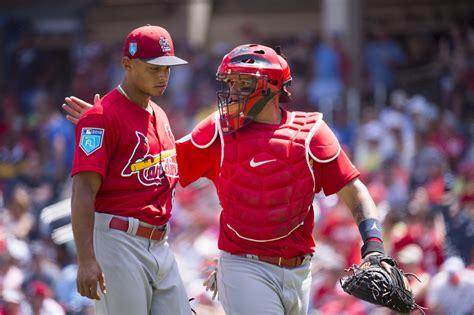 cardinals louis st hicks jordan mlb roster opening getty