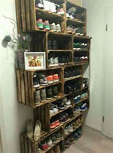 25 best ideas about shoe storage solutions on pinterest With stay organized with these shoe storage ideas