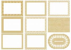 Certificate Border Vectors Pack - Download Free Vector Art ...
