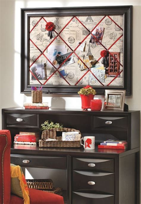 DIY Bulletin Board for Your Home Office - 20 Super Cool