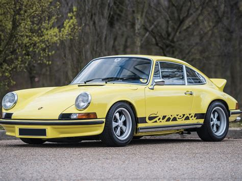 Porche 911 Rs by Rm Sotheby S 1973 Porsche 911 Rs 2 7 Touring