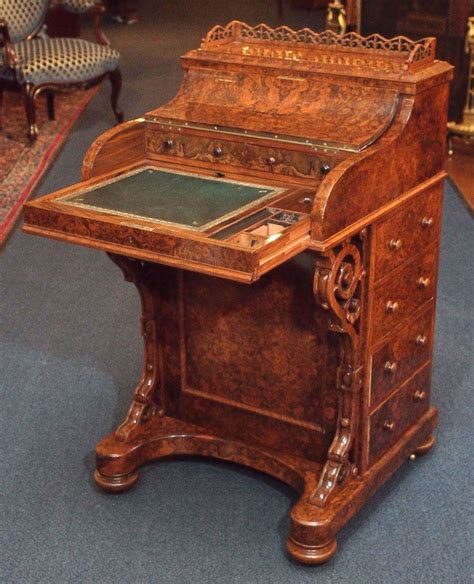 Museum Quality Antique Burled Walnut Mechanical Davenport. Vijaya Bank Help Desk Net Banking. Aptransco Bill Desk. Teen Desk Chairs. Pedestal Tables. Fletcher Capstan Table Cost. Craft Desk For Kids. Wooden Drawer Storage Unit. Two Sided Desk Home Office