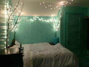 mint room branches with lights home in the corner fireflies and