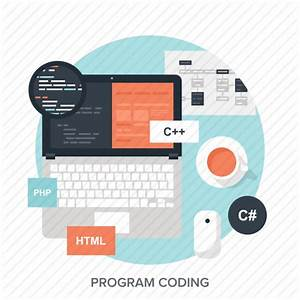 App, application, coding, development, laptop, program ...