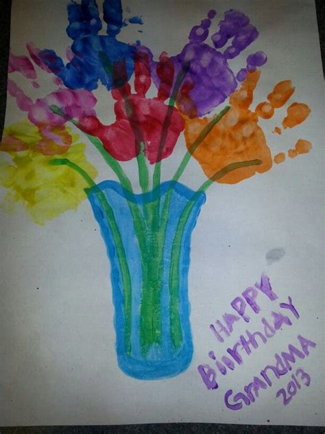 grandma lynes birthday gift  handpainted crafts