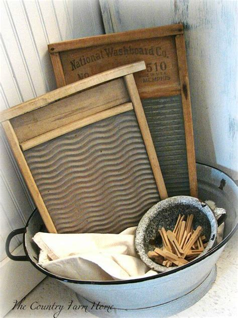 vintage laundry room decor ideas  designs