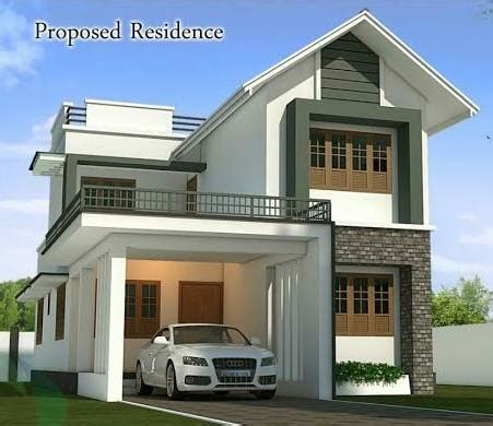Kerala New Home Design With Plan  Home Pictures