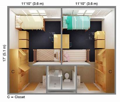 Dorm Floor Plan Csu Apartment Hall Suite