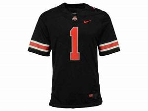 nike quot1quot ncaa men39s all black limited football jersey With kitchen colors with white cabinets with what are the stickers on ohio state football helmets