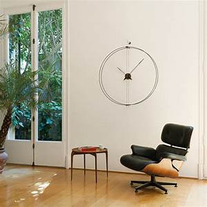Moderne Wanduhren Wohnzimmer : 9 ausgefallene wanduhren zeit f r hingucker ~ A.2002-acura-tl-radio.info Haus und Dekorationen