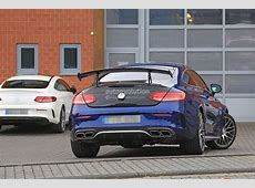 2018 MercedesAMG C63 R Coupe Comes to Crash the BMW M4