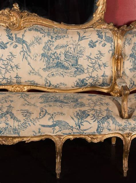 german canapes 19th century german sofa and mirror or quot canape de l 39 amitie