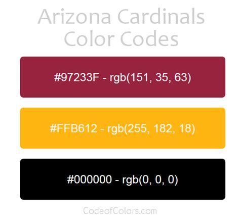 arizona cardinals colors hex  rgb color codes