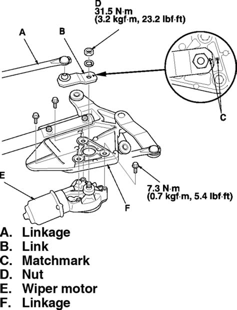 Ford Wiper Linkage Diagram by Ford F150 Windshield Wiper Repair Replace Wiper Linkage