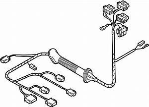 2003 Volkswagen Beetle Convertible Wire Harness  Spoiler
