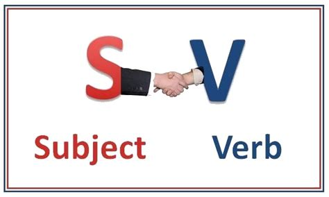 Subjectverb Agreement