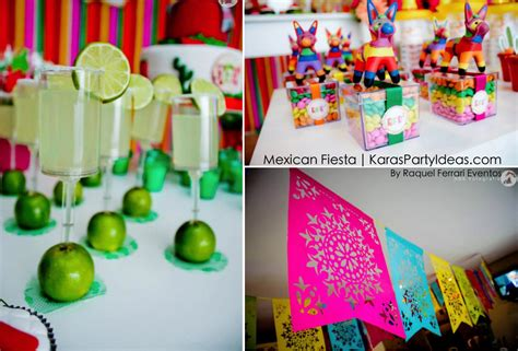 karas party ideas mexican fiesta themed family adult