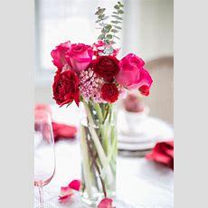 Valentine's Day Decorations Plush Velvet Hearts Tablescape