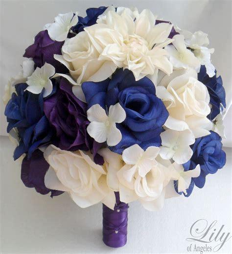 17pcs Wedding Bridal Bouquet Flower Bride Decoration