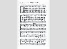 Song Sheet Fellowship Hall