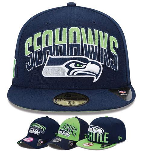 seahawks  era caps  nfl draft collection