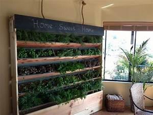 101 besten vertical garden bilder auf pinterest balkon With katzennetz balkon mit vertical garden