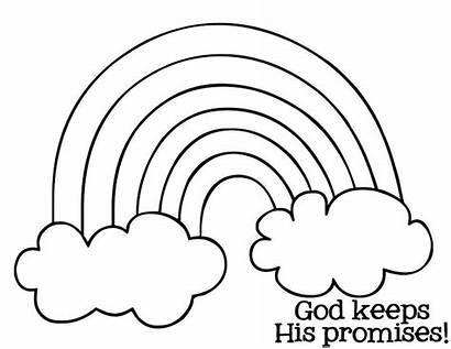 Coloring Rainbow Printable Pages