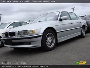 Titanium Silver Metallic - 2001 BMW 7 Series 740iL Sedan