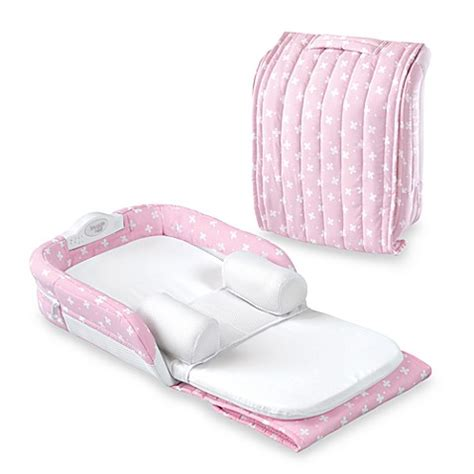 nest pink baby delight supreme pink delight snuggle nest buybuy baby