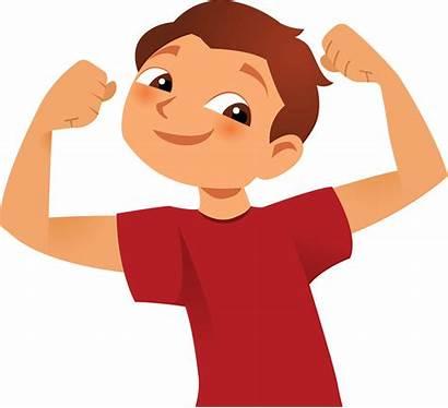 Strong Clipart Boy Transparent Clip Arm Cartoon