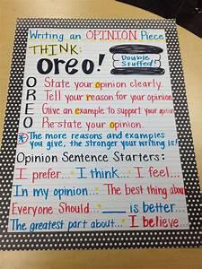 Image Result For 2 Grade Writing Oreo Oreo Opinion