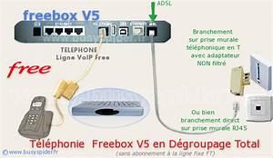 Branchement Prise Telephone Adsl : forum c alice probl me de t l phone freebox v5 en ~ Melissatoandfro.com Idées de Décoration