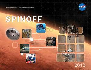 Spinoff 2013 shows how much space is in our lives - RocketSTEM