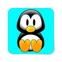 Cute Cartoon Baby Penguin