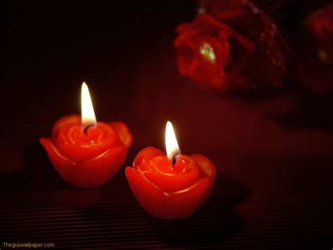 Romance Love Candle Picture