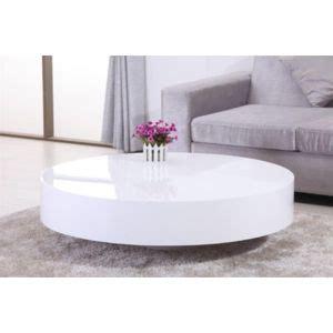 table ronde cuisine alinea design table basse ronde laquée belius blanc