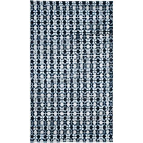 29315 blue light blue safavieh montauk ivory light blue 5 ft x 7 ft area rug