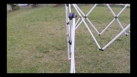 repair  pop  canopy tent frame youtube