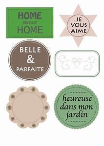 Mes étiquettes Gratuites à Imprimer : tiquettes gratuites imprimer babanew ~ Nature-et-papiers.com Idées de Décoration