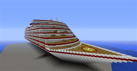 cruise ship medium minecraft project