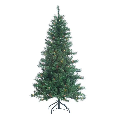 sterling 5 ft pre lit colorado spruce artificial