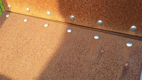 Cortenstahl Schneller Rosten cortenstahl schneller rosten lassen wohn design