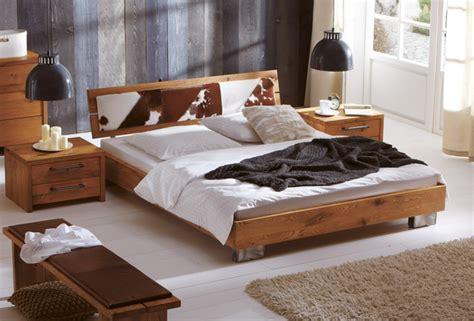 rustikales schlafzimmer