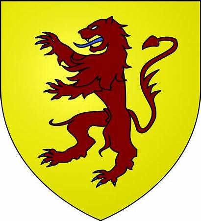 Powys Arms Coat Svg John Ap Teyrnas